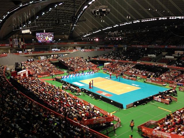 バレーボールリオデジャネイロオリンピック最終予選:東京体育館