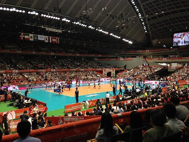 日本女子代表バレーボールオリンピック最終予選