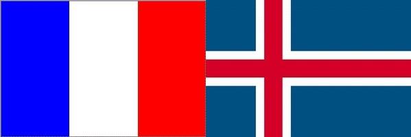 フランス対アイスランド:ユーロ2016決勝トーナメントベスト8,準々決勝