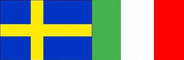 スウェーデン対イタリア:EURO2016グループE欧州選手権