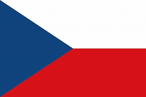 チェコ 国旗