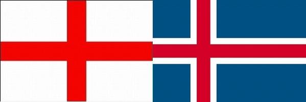 イングランド対アイスランド:ユーロ2016決勝トーナメントベスト16