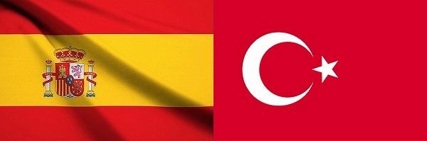 スペインVSトルコ:EURO2016グループリーグD組欧州選手権