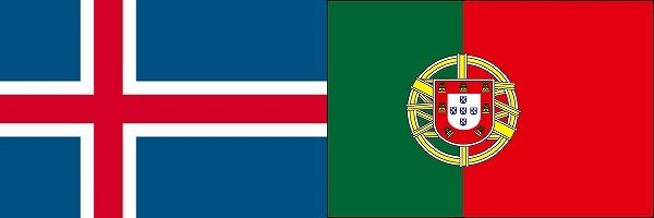 アイスランドVSポルトガル:ユーロ2016グループリーグF組