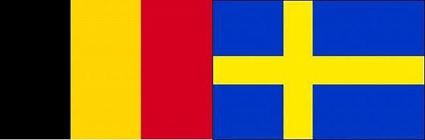 ベルギー対スウェーデン:ユーロ2016死の組グループE欧州選手権
