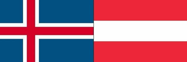 アイスランドVSオーストリア:ユーロ2016グループリーグF組