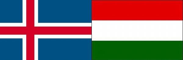アイスランド対ハンガリー:ユーロ2016グループF組
