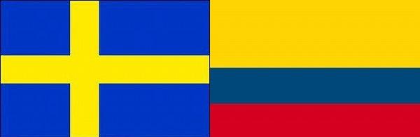 スウェーデン対コロンビア:リオデジャネイロオリンピック:グループリーグB