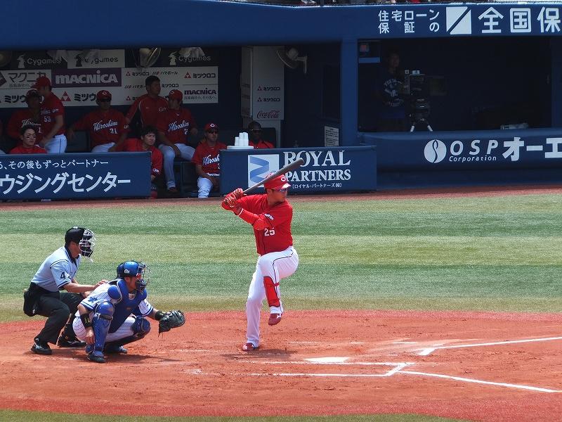 7月絶好調:打率トップ:広島カープ新井さん