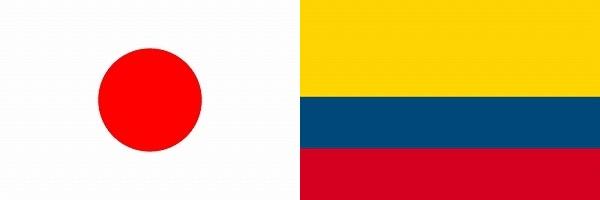 日本対コロンビア:リオデジャネイロオリンピック:グループリーグB
