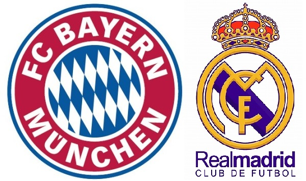 バイエルンミュンヘンVSレアルマドリード:チャンピオンズリーグ