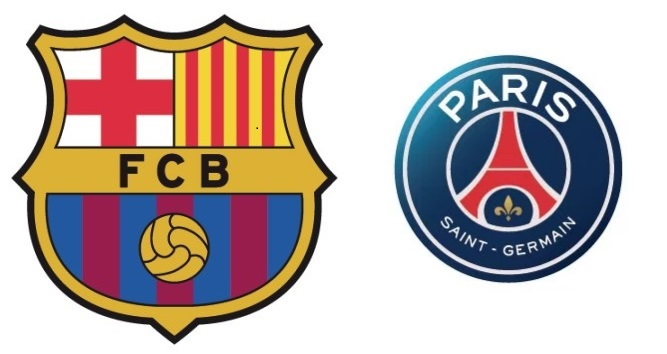 FCバルセロナ:パリサンジェルマン:チャンピオンズリーグ