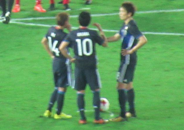 背番号10・香川:日本代表
