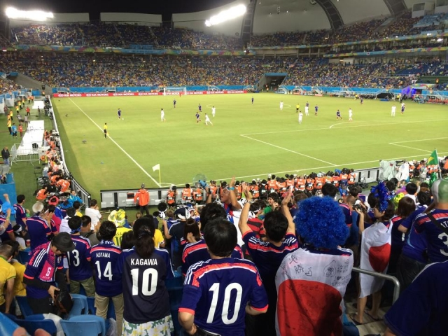 ワールドカップ:日本!