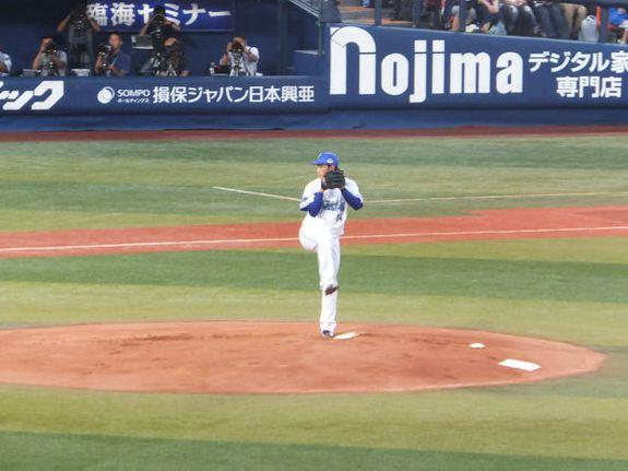 石田健大:横浜DeNAベイスターズ