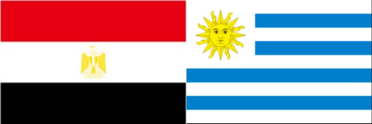 エジプトVSウルグアイ:ロシアW杯グループリーグA組