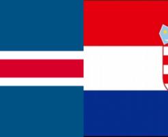 アイスランドVSクロアチア:ロシアW杯グループリーグD組