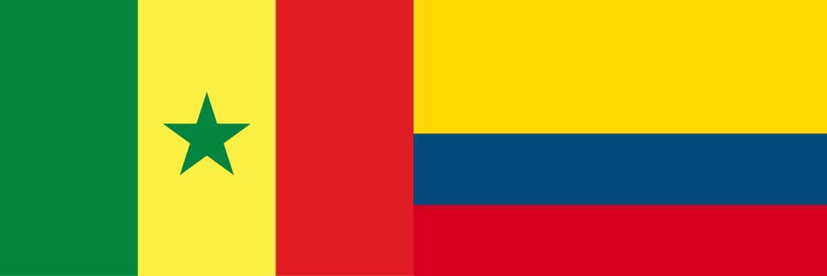 セネガルVSコロンビア:ロシアW杯グループリーグH組