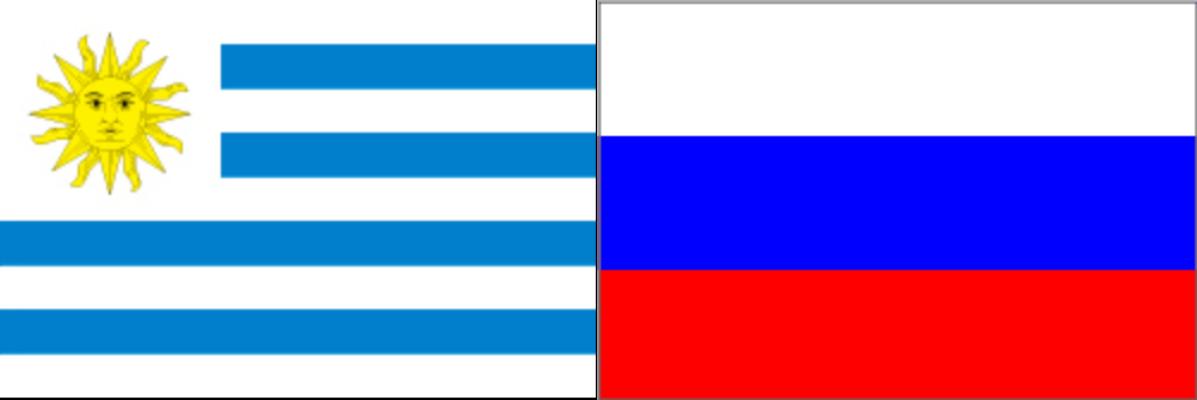 ウルグアイVSロシア:ロシアW杯グループリーグA組