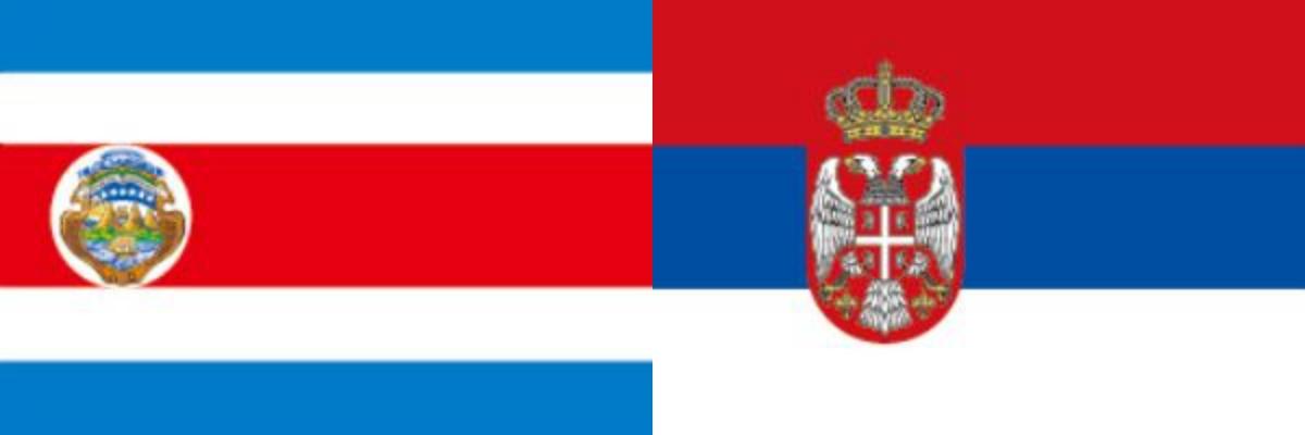 コスタリカVSセルビア:ロシアW杯グループリーグE組