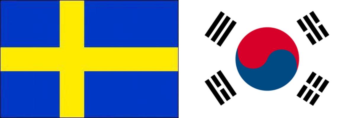 スウェーデンVS韓国:ロシアW杯グループリーグF組