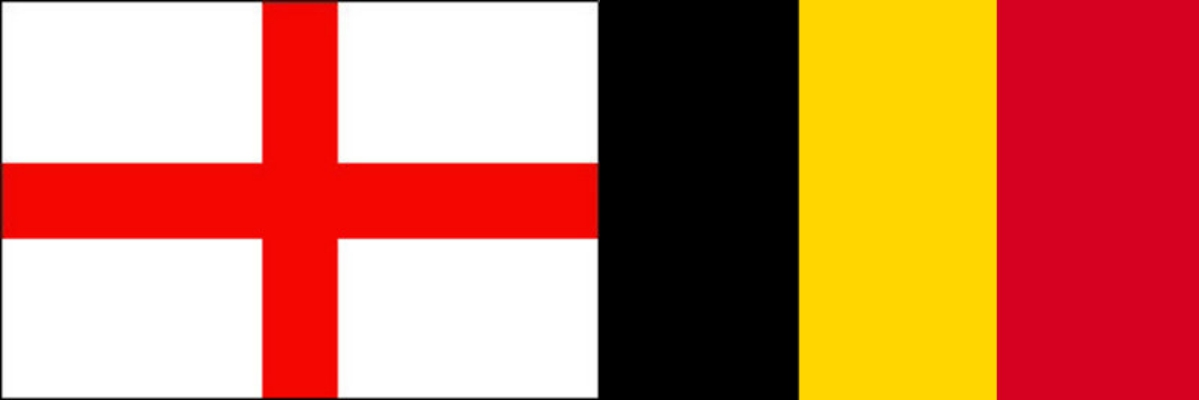 イングランドVSベルギー:ロシアW杯グループリーグG