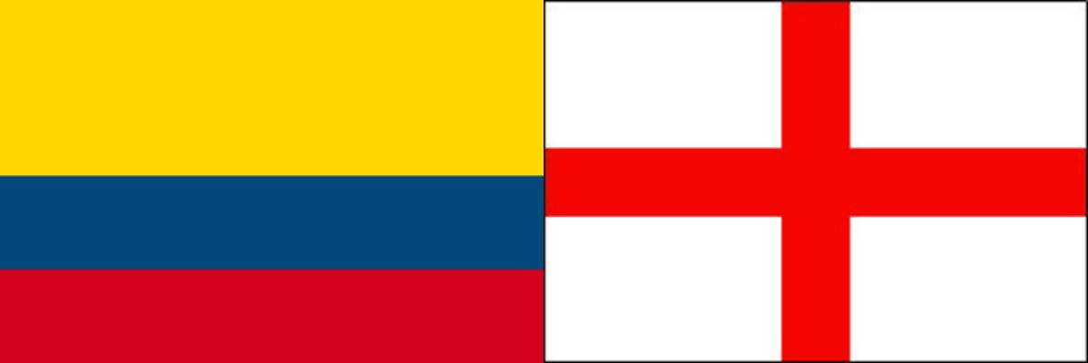 コロンビアVSイングランド:ロシアW杯ラウンド16