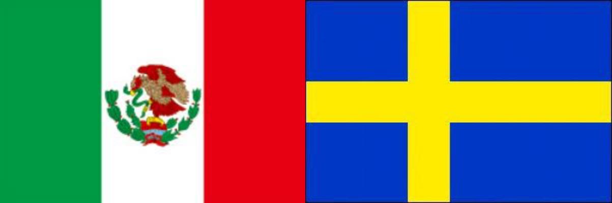 メキシコVSスウェーデン:ロシアW杯グループリーグF組