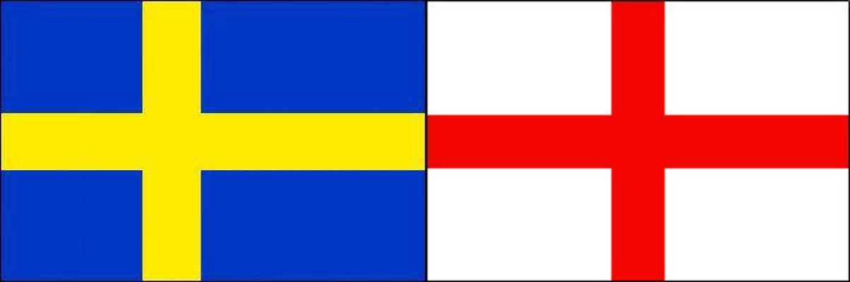 スウェーデンVSイングランド:ロシアワールドカップベスト8