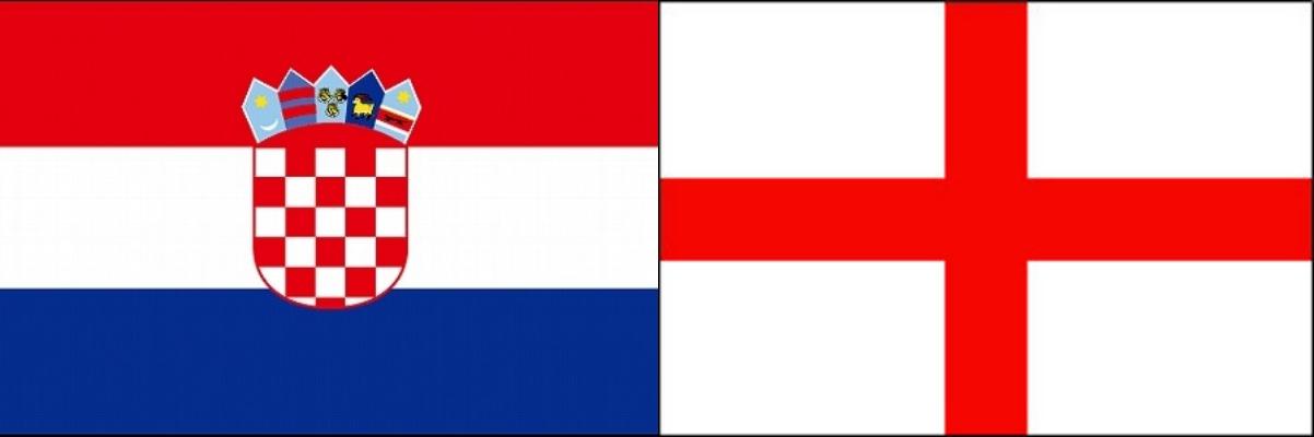 クロアチアVSイングランド:ロシアW杯準決勝ベスト4