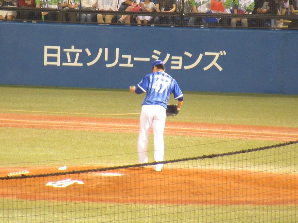 横浜DeNAブルペンを支える左腕・砂田投手