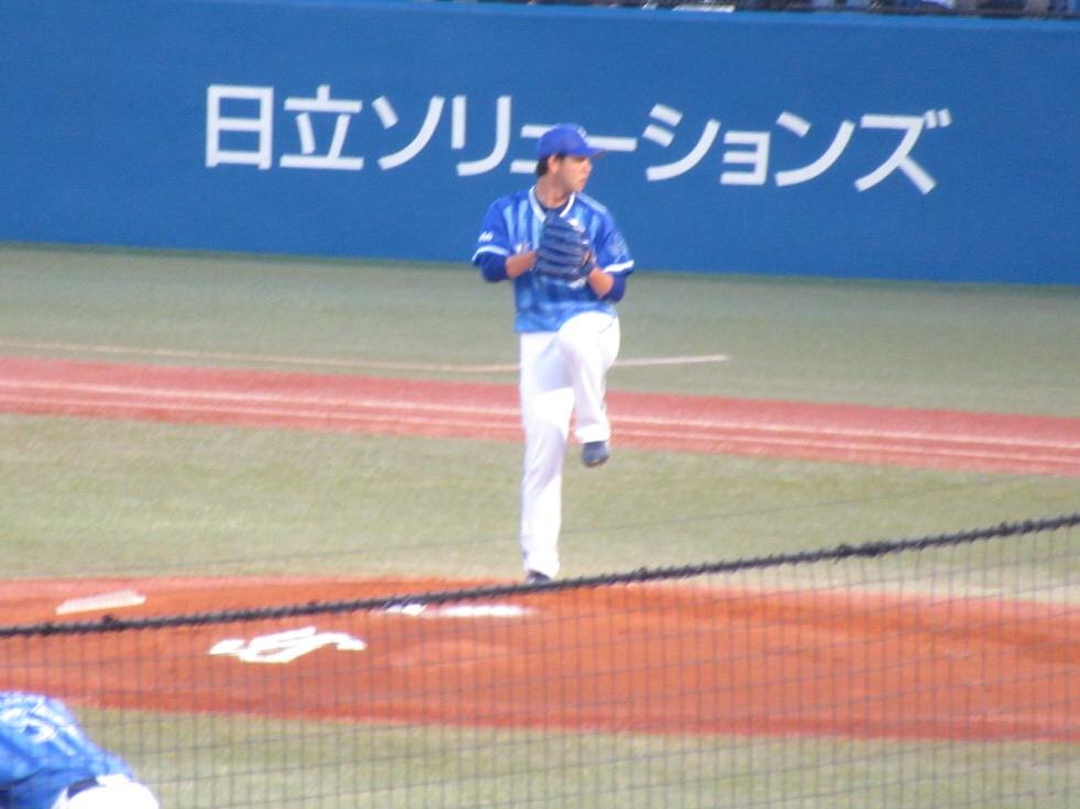 横浜DeNAベイスターズ平良投手・神宮球場