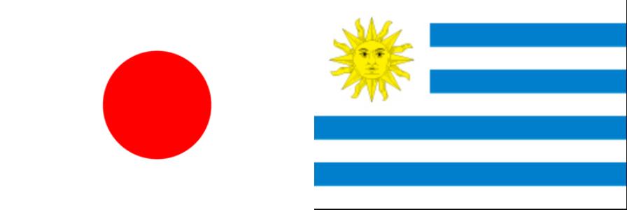 日本VSウルグアイ2018親善試合:キリンチャレンジカップ