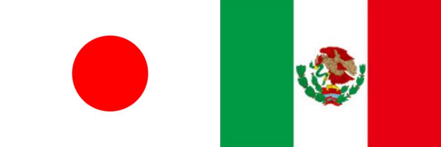 日本VSメキシコ