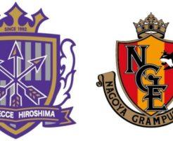 サンフレッチェ広島VS名古屋グランパス:Jリーグ第33節