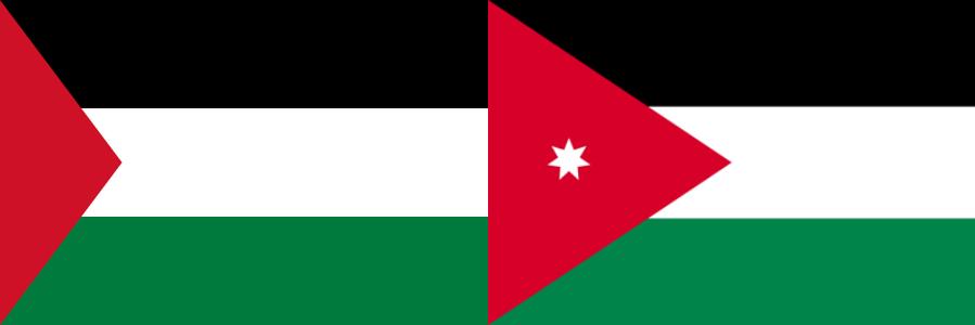 パレスチナVSヨルダン・アジアカップ2019・グループB組