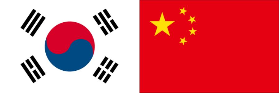 韓国VS中国・アジアカップ2019・グループC組