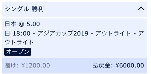 アジアカップ2019・日本の優勝を予想!