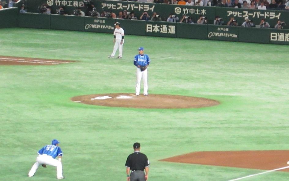 井納翔一・横浜DeNAベイスターズ投手