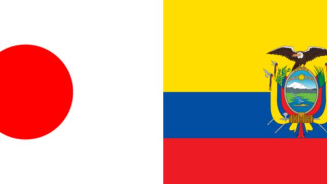 日本VSエクアドル・コパアメリカ2019