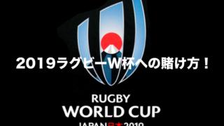 2019ラグビー日本W杯への賭け方!TOTOより断然オススメ!
