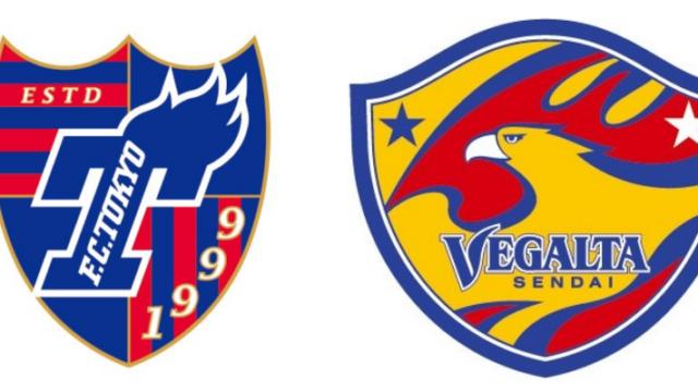 FC東京対仙台・Jリーグ2019第22節