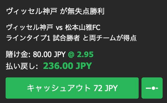 ヴィッセル神戸の無失点勝利を予想・10bet Japan