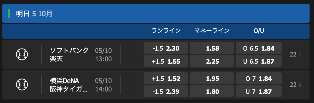 2019CSクライマックスシリーズ試合予想・オッズ・10betJapan