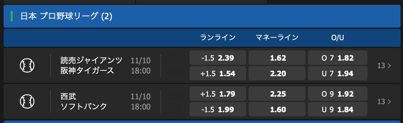 2019CS第3戦・阪神巨人戦・試合予想