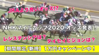 NHKマイルカップ2020オッズ発表!(予想&過去参考レース動画)