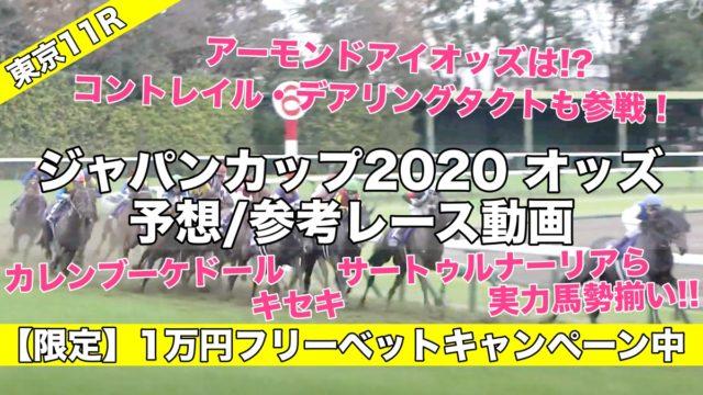 ジャパンカップ2020オッズ発表(予想&過去参考レース動画) アーモンドアイ,コントレイル,デアリングタクトら有力馬評価は…