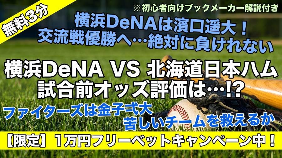 横浜DeNA交流戦優勝の可能性は消えた…!?苦しい先発陣…濱口頼んだ!