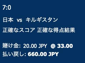 サッカーアジアW杯2次予選予想 日本対キルギス・日本勝利