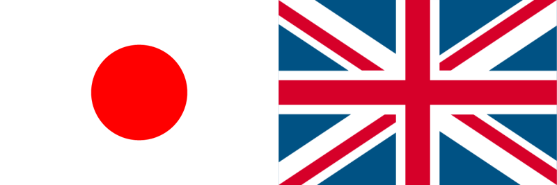 日本対イギリス